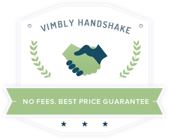 Vimbly handshake badge